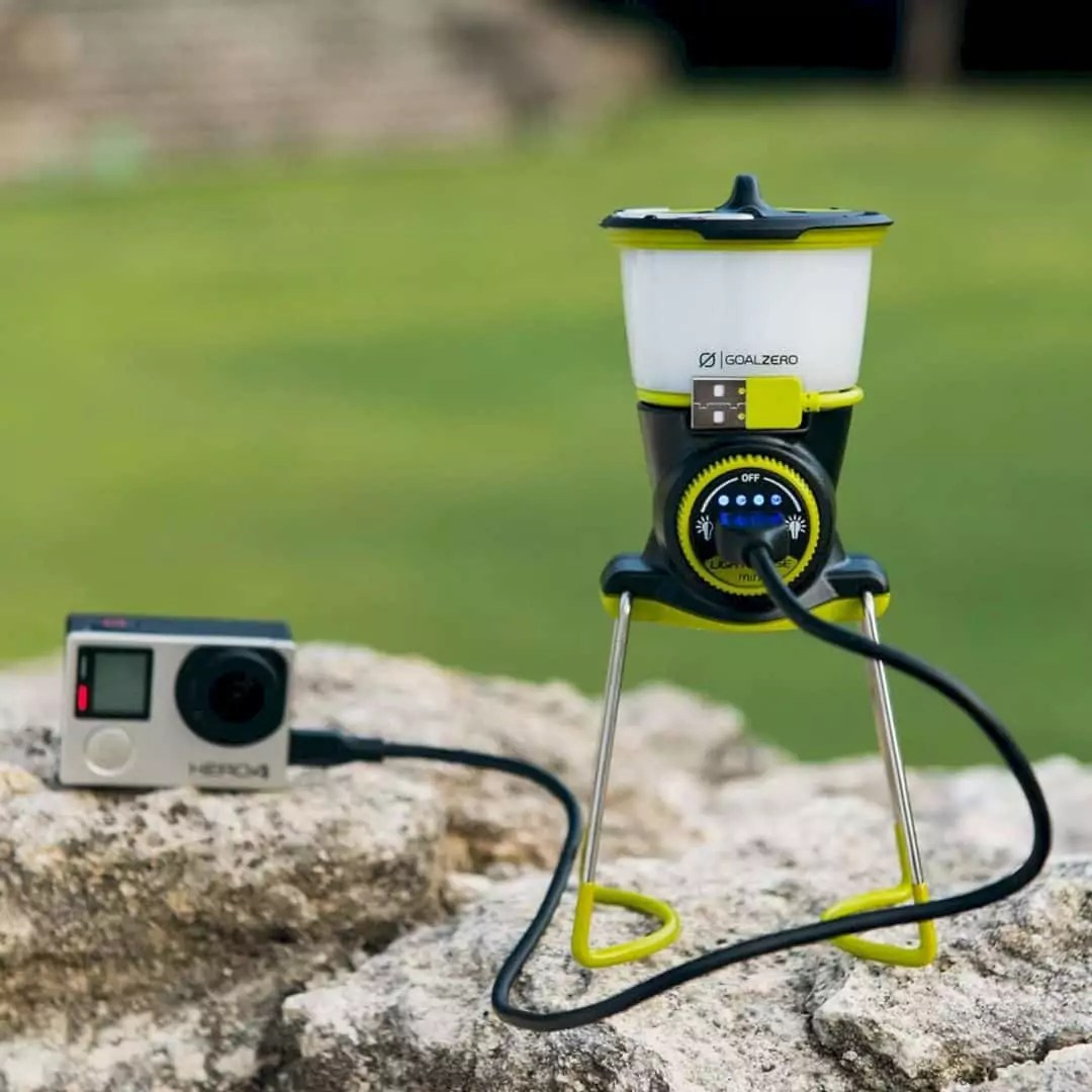 Lighthouse Mini Lantern by Goal Zero: Powerful Mini Lantern - Size Really Doesn't Matter.