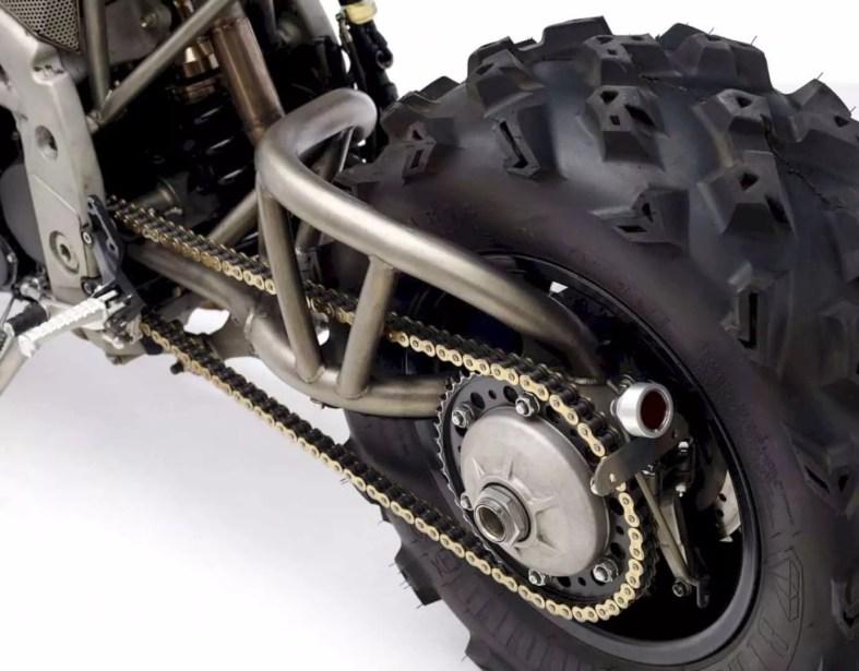 2007 Triumph Speed Triple 1050 Codenamed Frank By Classified Moto 1