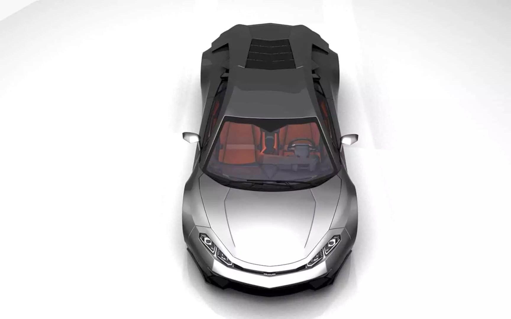 DMC DeLorean: A Contemporary Conceptual Design of DeLorean Classic Car