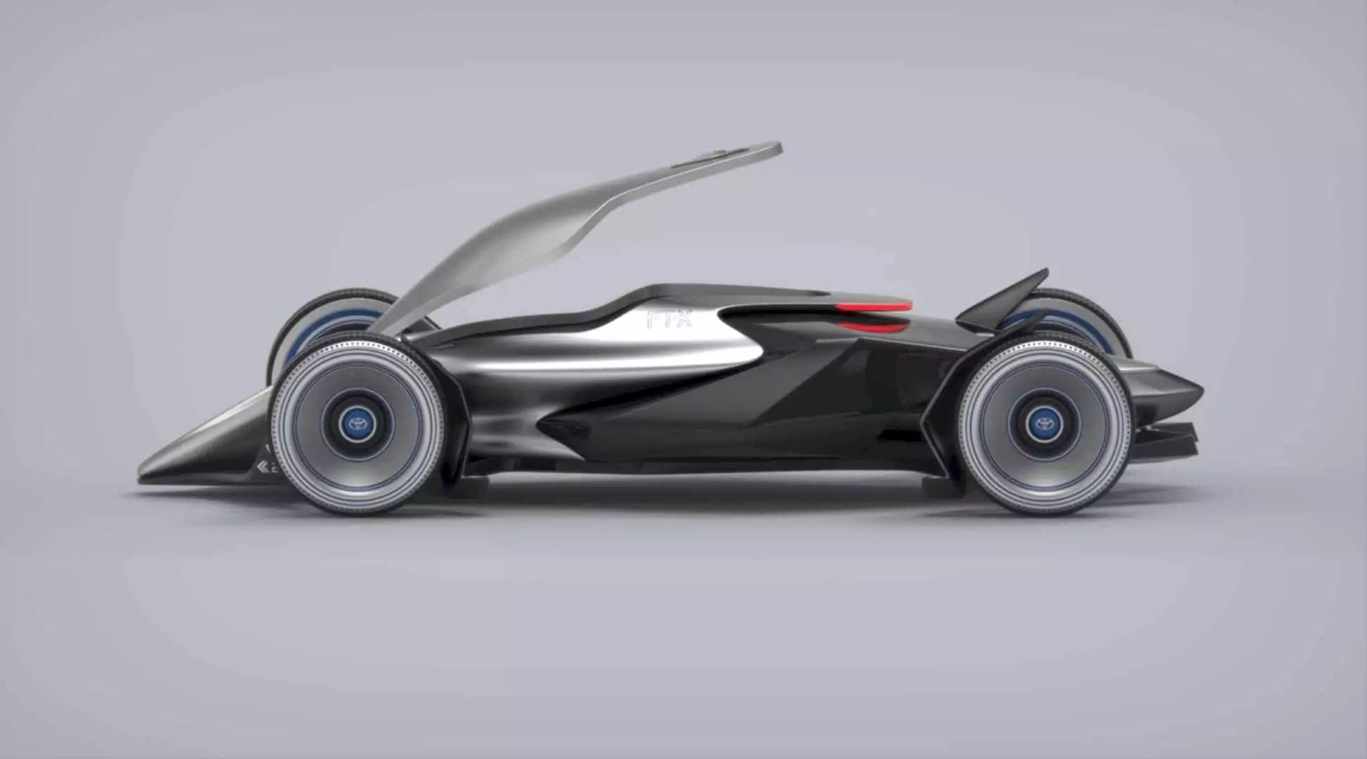 Toyota Car - FT-X Race Car: A Conceptual Design Project of A Futuristic Race Car