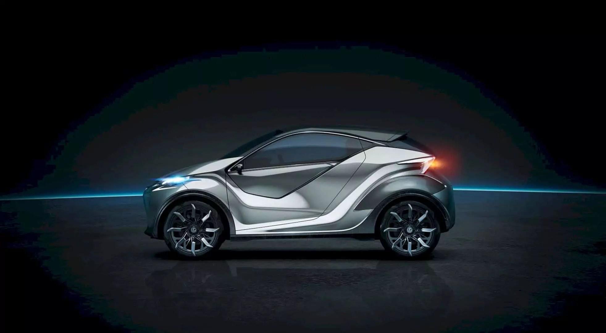 Lexus LF-SA Concept: A New Vision
