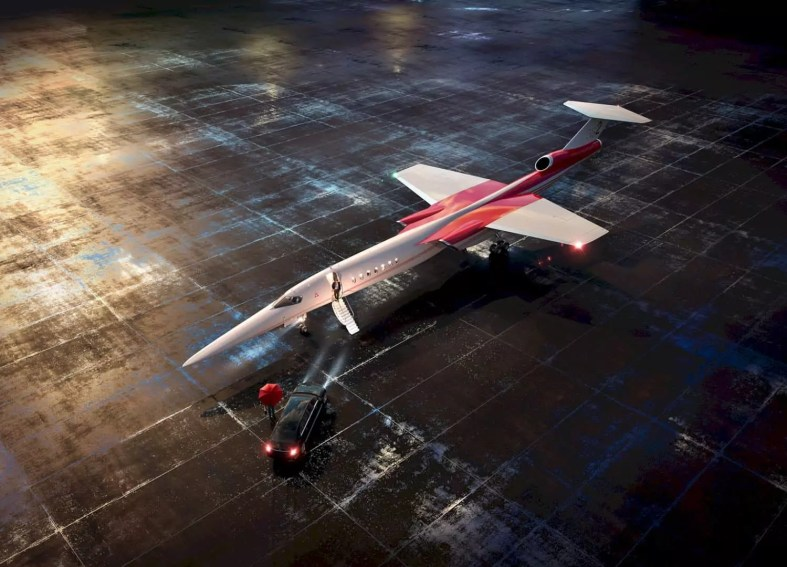The Aerion As2 Supersonic 7