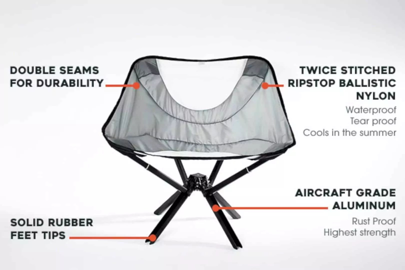 Go Chair: The Smallest Portable Chair Ever