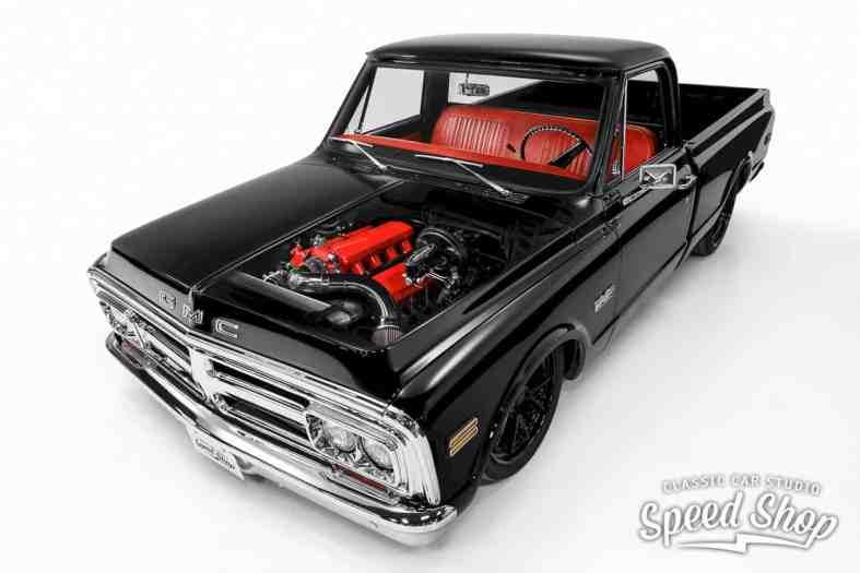 1972 Gmc 1500 Custom Black Betty 1
