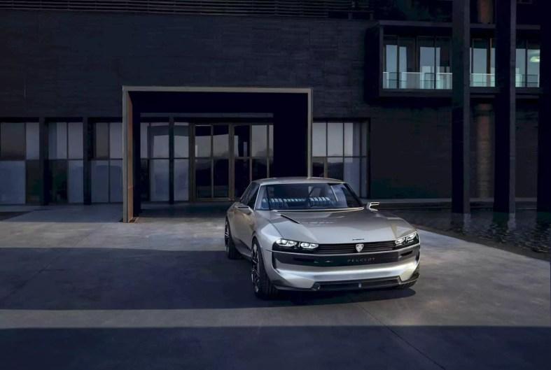 Peugeot E Legend Concept 5