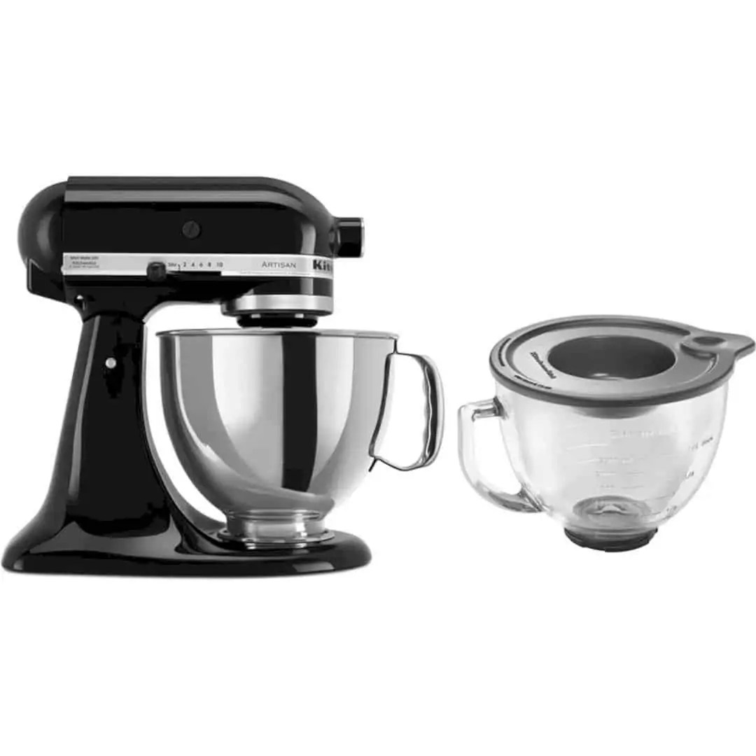 KitchenAid Artisan Series 5 qt. Mixer: enough power for nearly any recipe in your culinary repertoire