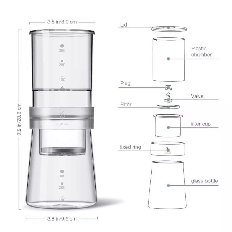 Soulhand Cold Brew Coffee Maker 6