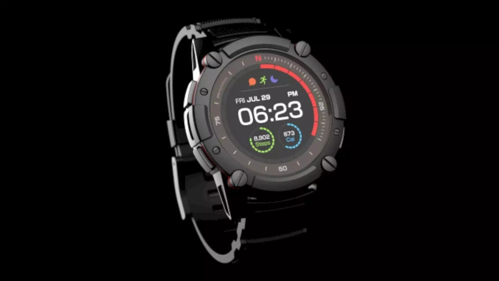 MATRIX PowerWatch 2: The world's most powerful smartwatch you never have to charge.