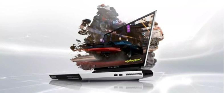 New Alienware Area 51m Gaming Laptop 4