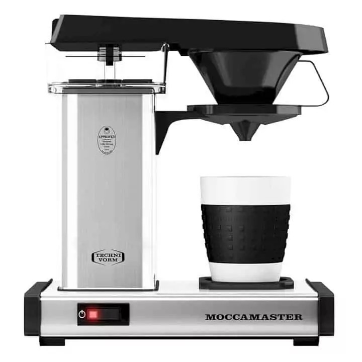 Moccamaster Cup-One: single serve, pod free coffee brewer