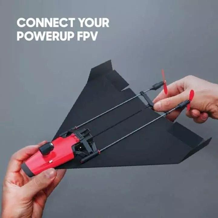Powerup X Fpv Video Paper Airplane Kit 8