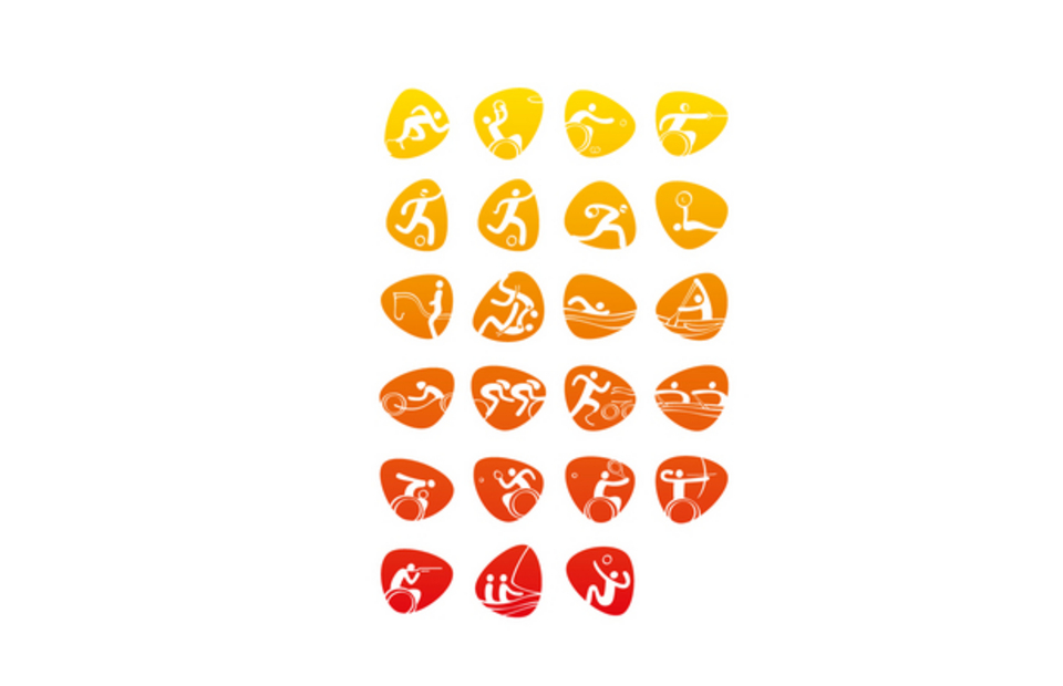 Τα 23 εικονογράμματα των Παραολυμπιακών