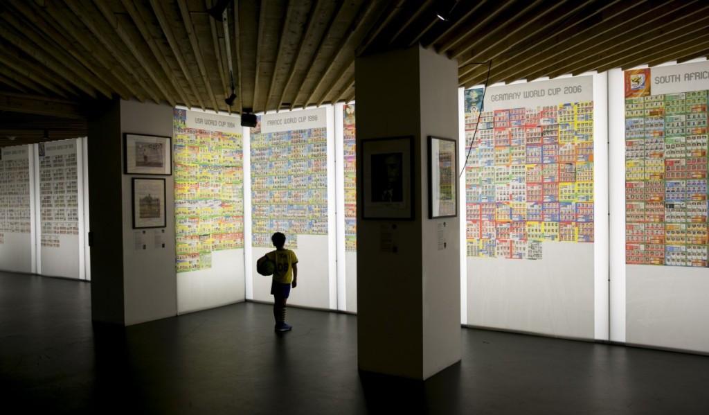 Panini World Cup sticker exhibition at The Proud Archivist, London, Britain - 11 Jun 2014