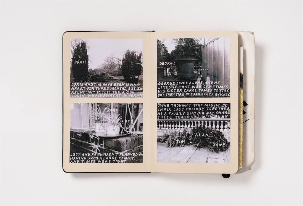 Oona Brown : Sketchbook #7 London RCA