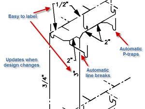 Isometric Diagrams  Design Master Software