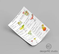Fanos cocktails menu