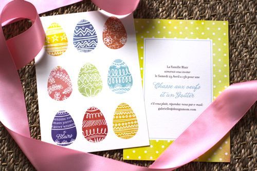 Easter party invitations Minted