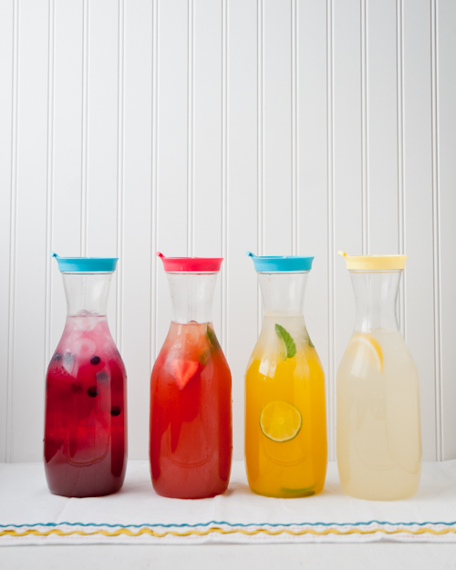 lemonade-101-fruity-flavorsLemonade 101. Everything you need to know to make a perfect pitcher.  |  Design Mom