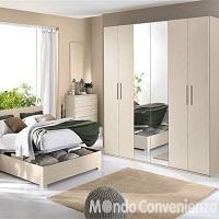 Variazione di prezzo l letto contenitore cm 173x209x100h 775€ sconto iva camera completa. Camere Da Letto Mondo Convenienza 2015 Catalogo