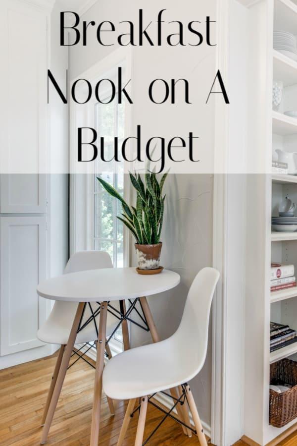 Breakfast Nook on a Budget