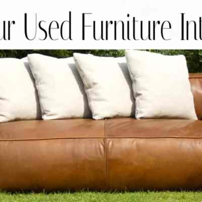 How to Sell Used Furniture and Other Stuff Online – A Step By Step Guide