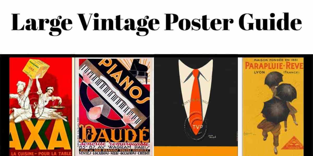 Large Vintage Posters