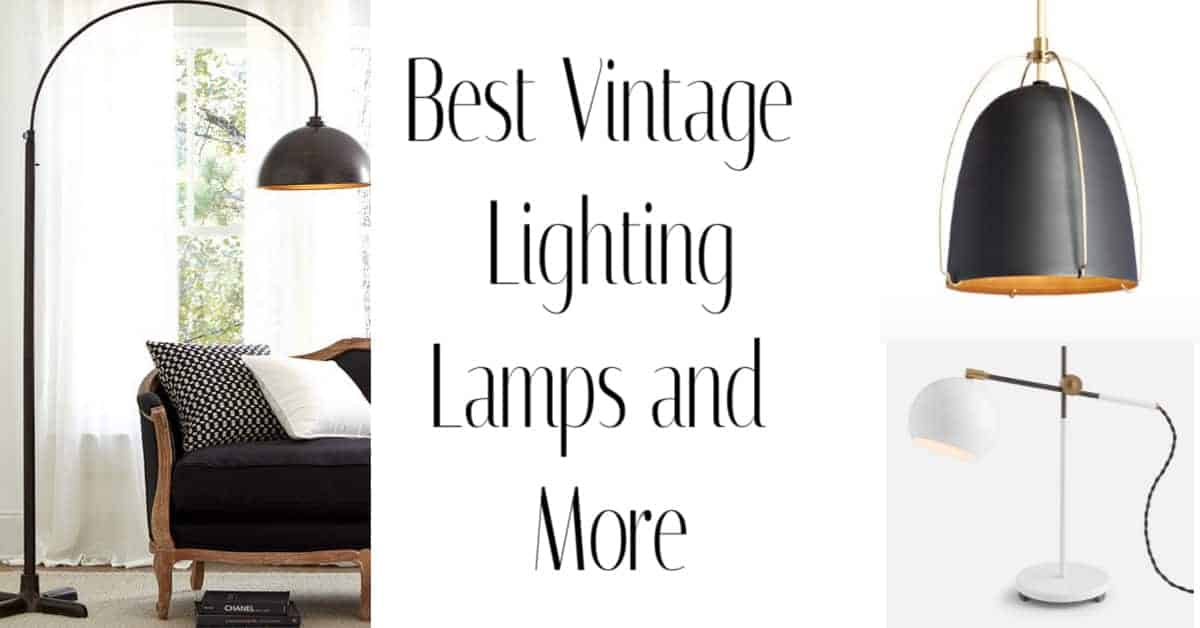 Best place for vintage lamps, chandeliers and pendants