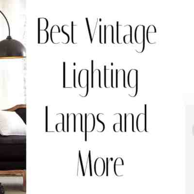 Best Places For Vintage Lighting