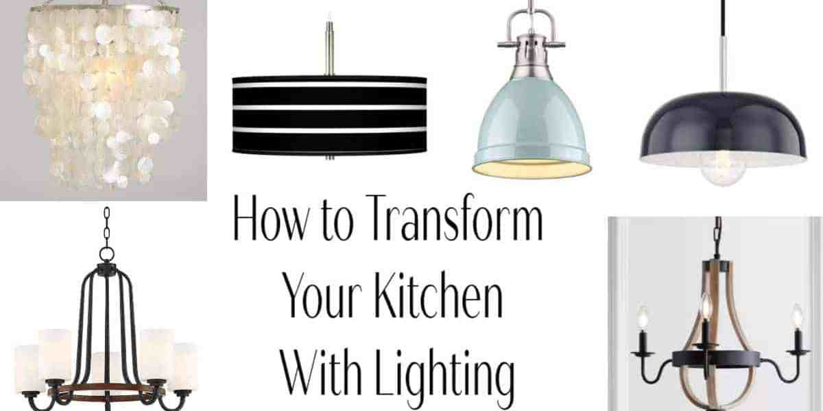 How to Update Kitchen Lighting On A Budget