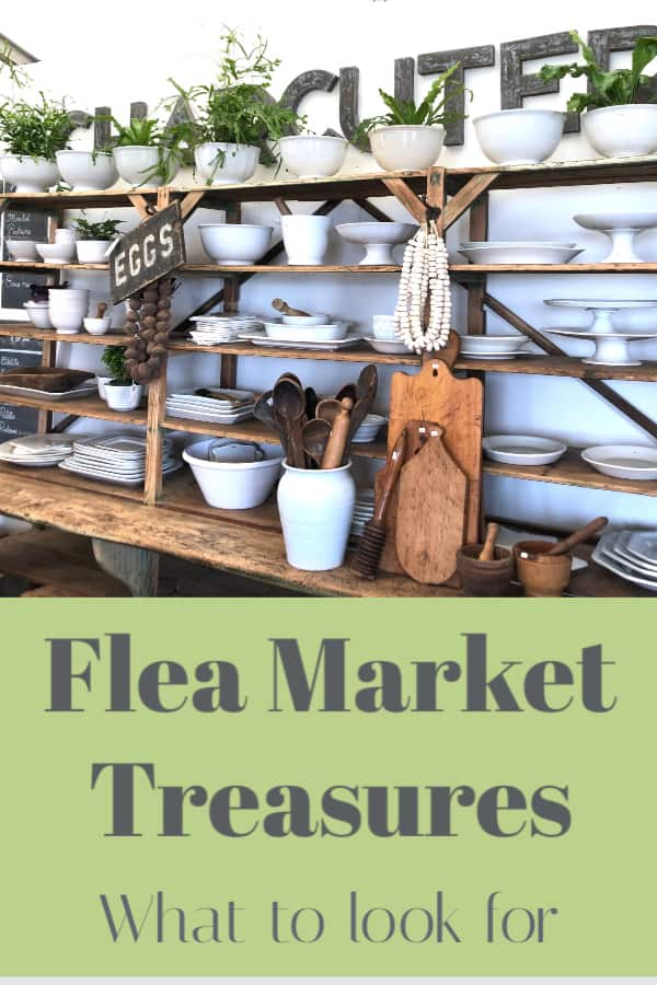 Flea markets are a great place to find one of a king things for your home or apartment.  See what's at flea markets this year.