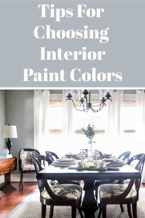 If you feel overwhelmed by the number of paint choices you are not alone.  Read these helpful tips to help you narrow your choices.