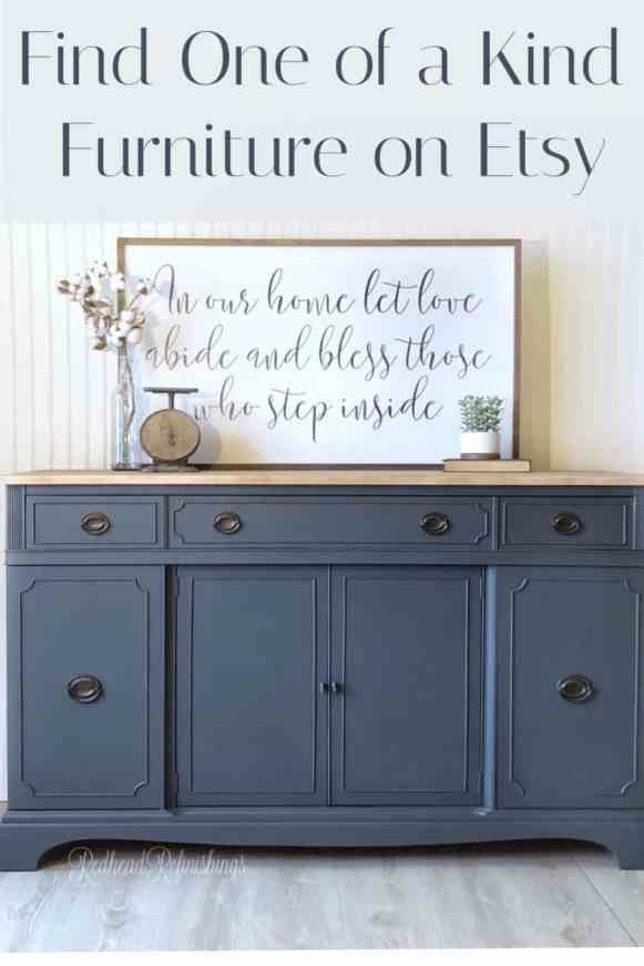 Find One of a kind furniture on Etsy.