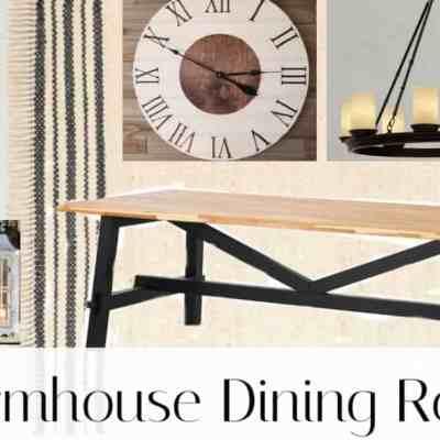 Farmhouse Dining Decor