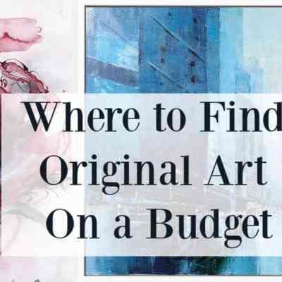 Where to Find Original Art On A Budget