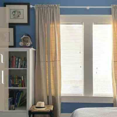 Drop Cloth Curtains DIY Tutorial
