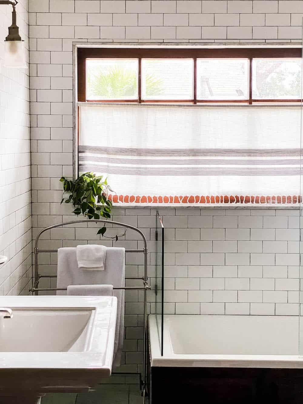 bathroom curtain for privacy