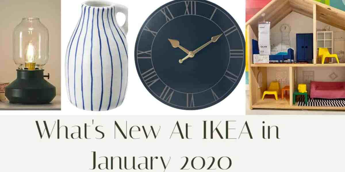 New at IKEA in January 2020