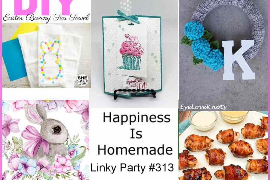 Happiness is Homemade, Link Party #313 Feature