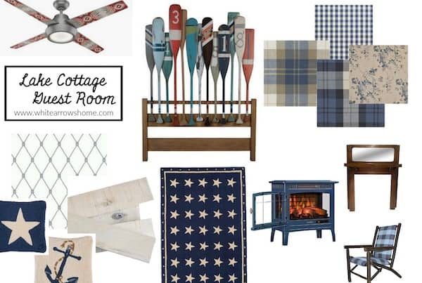 White Arrows Home one room challenge