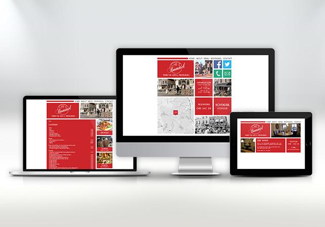 cafe bommel middelburg webdesign