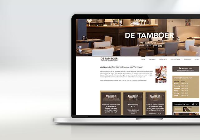 tamboer middelburg webdesign