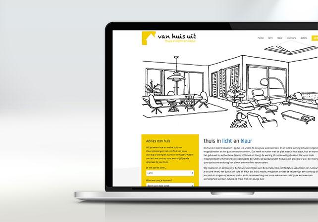 van huis uit webdesign