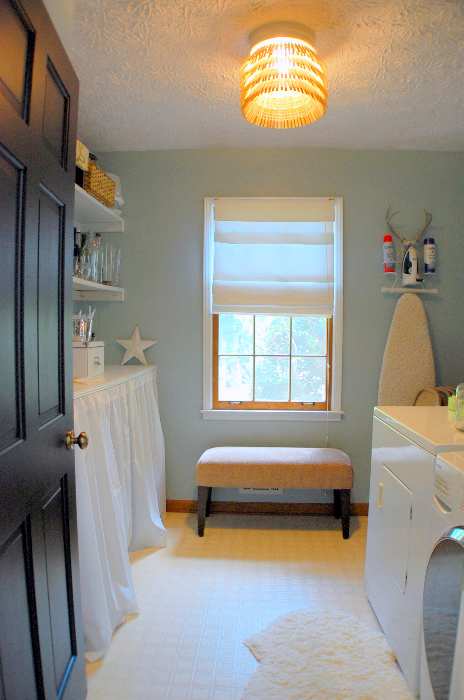 loads of fun designocd on best laundry room paint color ideas with wood trim id=36518