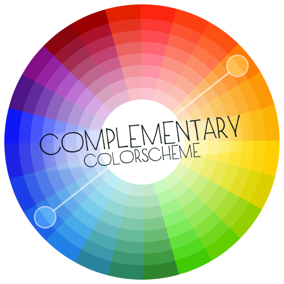 Colors In A Complementary Color Scheme Exist Directly Opposite One Another On The Wheel Here Blue And Orange Ednas Real World Her Something
