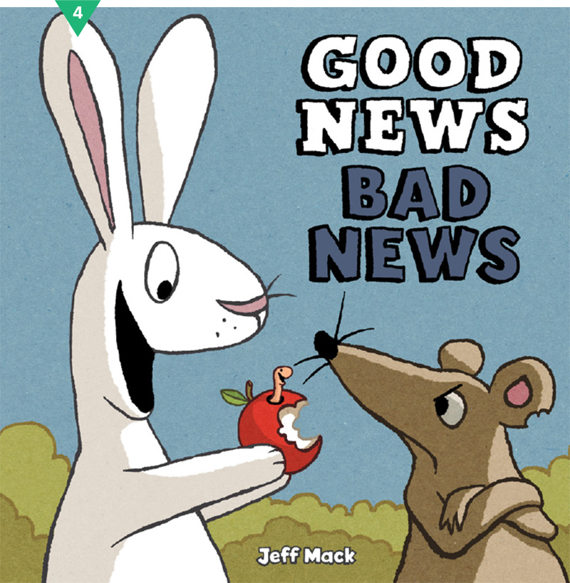Good News Bad News #givebooks