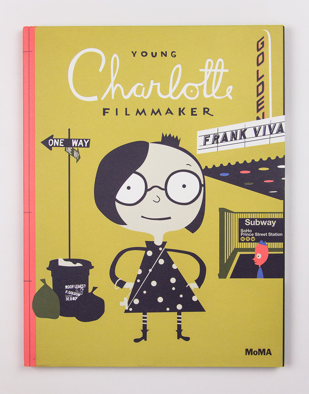 Young Charlotte, Filmmaker by Frank Viiva