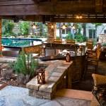 Home Pool Bar Decor