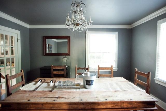 gray Ceiling Color Design