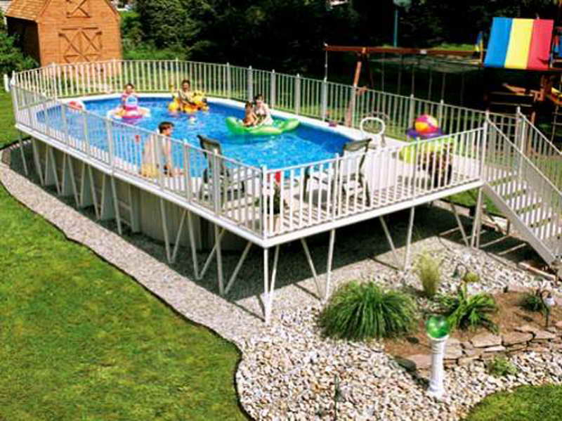 Above Ground Swimming Pools Clearance Design On Vine