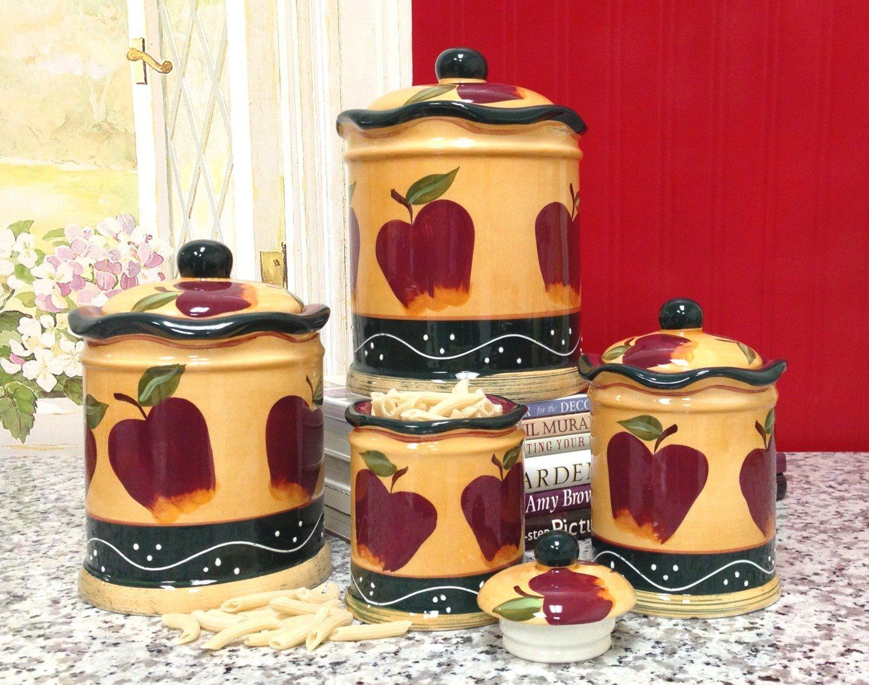 Apple Kitchen Decor Sets - Design On Vine